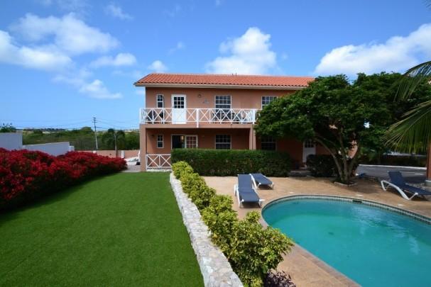 Tweede Huis op Curacao: Appartement in Bottelier met zwembad
