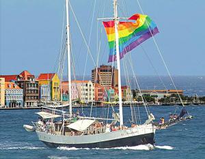 Boottocht met tijdens de Curacao Price