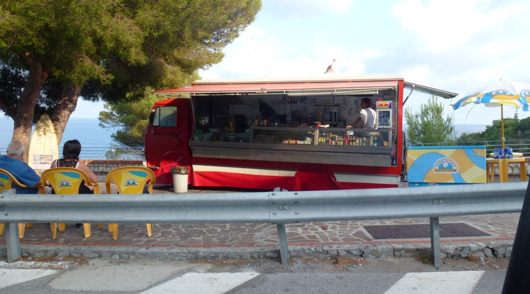Food truck in Curacao