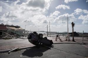 Marigot in Sint Maarten na Orkaan Irma