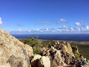 Uitzicht vanaf de top van de Christoffelberg